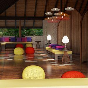 Departure Lounge View Cinnamon Dhonveli Maldives Honeymoons