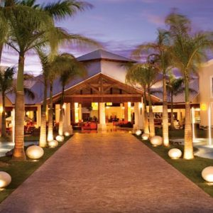 Dominican Republic Honeymoon Packages Dreams Palm Beach Punta Cana Lobby At Night
