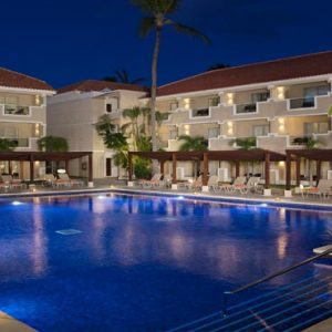 Dominican Republic Honeymoon Packages Dreams Palm Beach Punta Cana Pool At Night