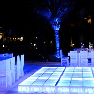 Dominican Republic Honeymoon Packages Dreams Palm Beach Punta Cana Wedding Reception Setup
