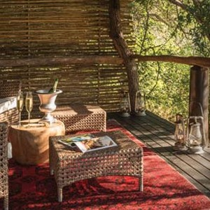 Dulini Lodge Kruger - Safari Honeymoons - Luxury Lodge - Terrace