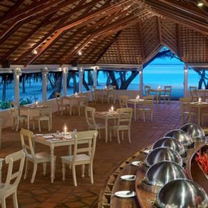 Koimala Garden Restaurant - cinnamon dhonveli - luxury maldives honeymoon packages