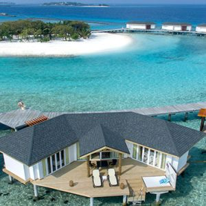Overwater Suites Exterior Cinnamon Dhonveli Maldives Honeymoons