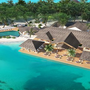 Pool Bar Cinnamon Dhonveli Maldives Honeymoons