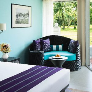 Sri Lanka Honeymoon Packages Taj Bentota Resort And Spa Deluxe Garden View King Bed Room