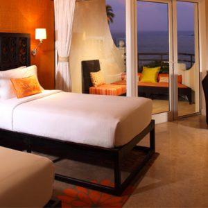 Sri Lanka Honeymoon Packages Taj Bentota Resort And Spa Deluxe Sea View Twin Bed Room