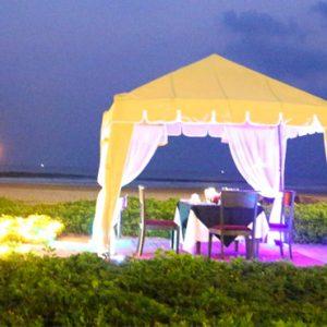 Sri Lanka Honeymoon Packages Taj Bentota Resort And Spa Dining 8