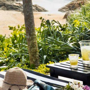 Sri Lanka Honeymoon Packages Taj Bentota Resort And Spa Loungers