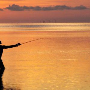Sunset Fishing Cinnamon Dhonveli Maldives Honeymoons