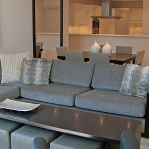 Waterfront Village Cape Town - Cape Town Honeymoon - Luxury One Bedroom Apartment - Lounge