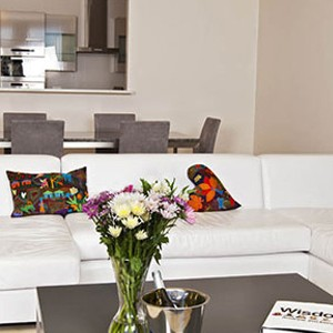 Waterfront Village Cape Town - Cape Town Honeymoon - Superior One Bedroom Apartment - lounge