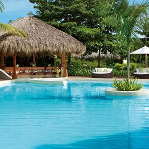 Zoetry Aguna Punta Cana - Dominican Republic honeymoons - Pool Bar