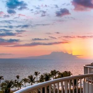 Hawaii Honeymoon Packages Fairmont Kea Lani Sunset