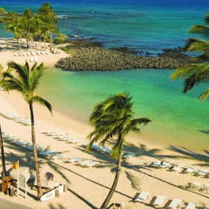 Hawaii Honeymoon Packages Fairmont Orchid Hawaii Beach 2