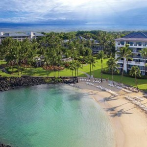 Hawaii Honeymoon Packages Fairmont Orchid Hawaii Exterior 2