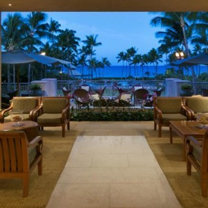 Hawaii Honeymoon Packages Fairmont Orchid Hawaii Lobby