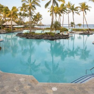 Hawaii Honeymoon Packages Fairmont Orchid Hawaii Pool
