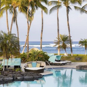Hawaii Honeymoon Packages Fairmont Orchid Hawaii Pool 2