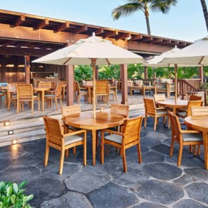 Hawaii Honeymoon Packages Four Seasons Hualalai Hawaii Big Island Hualalai Grille