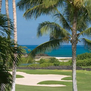 Hawaii Honeymoon Packages Four Seasons Hualalai Hawaii Big Island Ocean Golf View Room