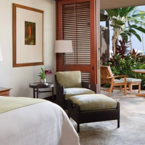 Hawaii Honeymoon Packages Four Seasons Hualalai Hawaii Big Island Ocean View Room