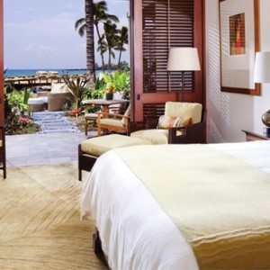 Hawaii Honeymoon Packages Four Seasons Hualalai Hawaii Big Island Ocean View Deluxe Room