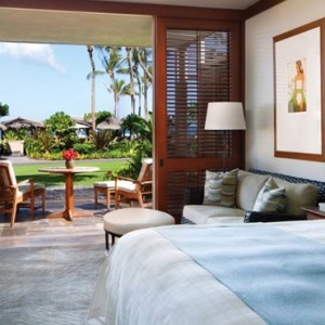 Hawaii Honeymoon Packages Four Seasons Hualalai Hawaii Big Island Partial Ocean View Room