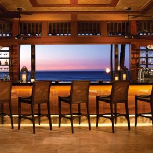 Hawaii Honeymoon Packages Four Seasons Hualalai Hawaii Big Island ULU Sushi Lounge