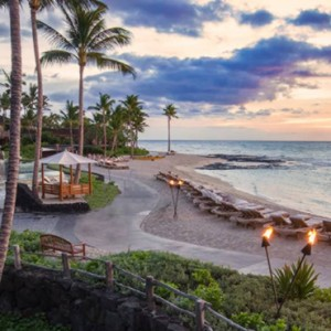 Hawaii Honeymoon Packages Four Seasons Hualalai Hawaii Big Island Beach