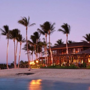 Hawaii Honeymoon Packages Four Seasons Hualalai Hawaii Big Island Beach 2