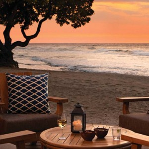 Hawaii Honeymoon Packages Four Seasons Hualalai Hawaii Big Island Dining