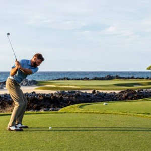 Hawaii Honeymoon Packages Four Seasons Hualalai Hawaii Big Island Golf