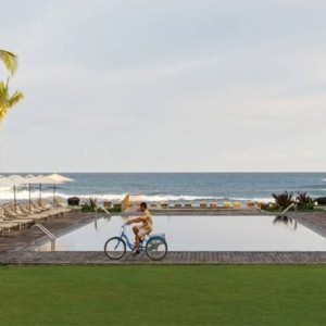 Hawaii Honeymoon Packages Four Seasons Hualalai Hawaii Big Island Pool