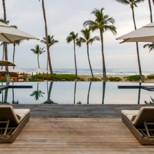 Hawaii Honeymoon Packages Four Seasons Hualalai Hawaii Big Island Pool 2