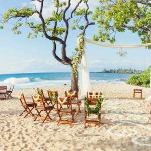 Hawaii Honeymoon Packages Four Seasons Hualalai Hawaii Big Island Wedding