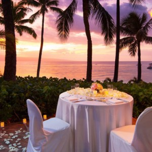 Hawaii Honeymoon Packages Westin Maui Resort And Spa Dining