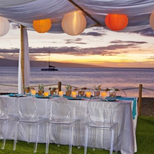 Hawaii Honeymoon Packages Westin Maui Resort And Spa Dining 3