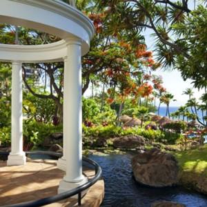 Hawaii Honeymoon Packages Westin Maui Resort And Spa Gazebo