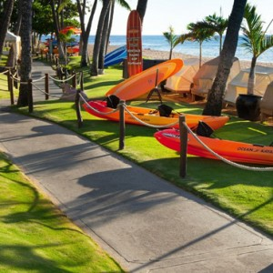 Hawaii Honeymoon Packages Westin Maui Resort And Spa Running Path