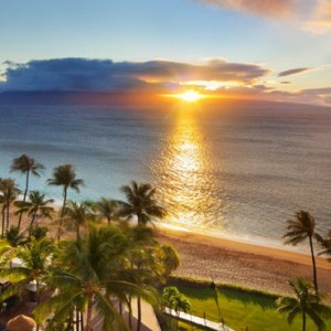 Hawaii Honeymoon Packages Westin Maui Resort And Spa Sunset