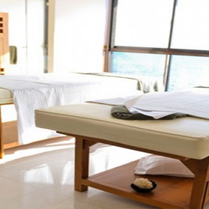Coco de Mer & Black Parrot Suites - Luxury Seychelles Honeymoon Packages - Couple spa treatment room