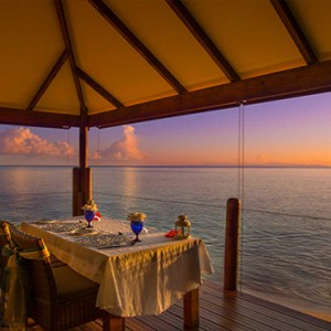 Coco de Mer & Black Parrot Suites - Luxury Seychelles Honeymoon Packages - Private dining
