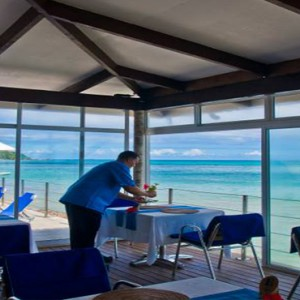 Coco de Mer & Black Parrot Suites - Luxury Seychelles Honeymoon Packages - The Hibiscus Restaurant1
