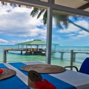 Coco de Mer & Black Parrot Suites - Luxury Seychelles Honeymoon Packages - The Hibiscus Restaurant2