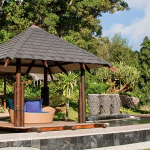Coco de Mer & Black Parrot Suites - Luxury Seychelles Honeymoon Packages - cabana