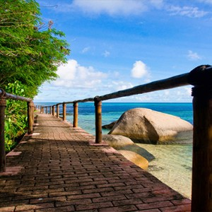 Coco de Mer & Black Parrot Suites - Luxury Seychelles Honeymoon Packages - location2