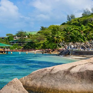 Coco de Mer & Black Parrot Suites - Luxury Seychelles Honeymoon Packages - ocean view