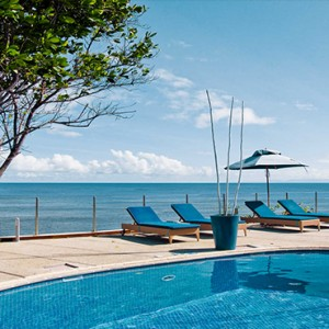 Coco de Mer & Black Parrot Suites - Luxury Seychelles Honeymoon Packages - pool view