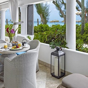 Colony Club - Barbados Honeymoon - Honeymoon Dream - ocean view room lounge