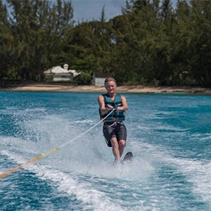 Colony Club - Barbados Honeymoon - Honeymoon Dream - skiing on water